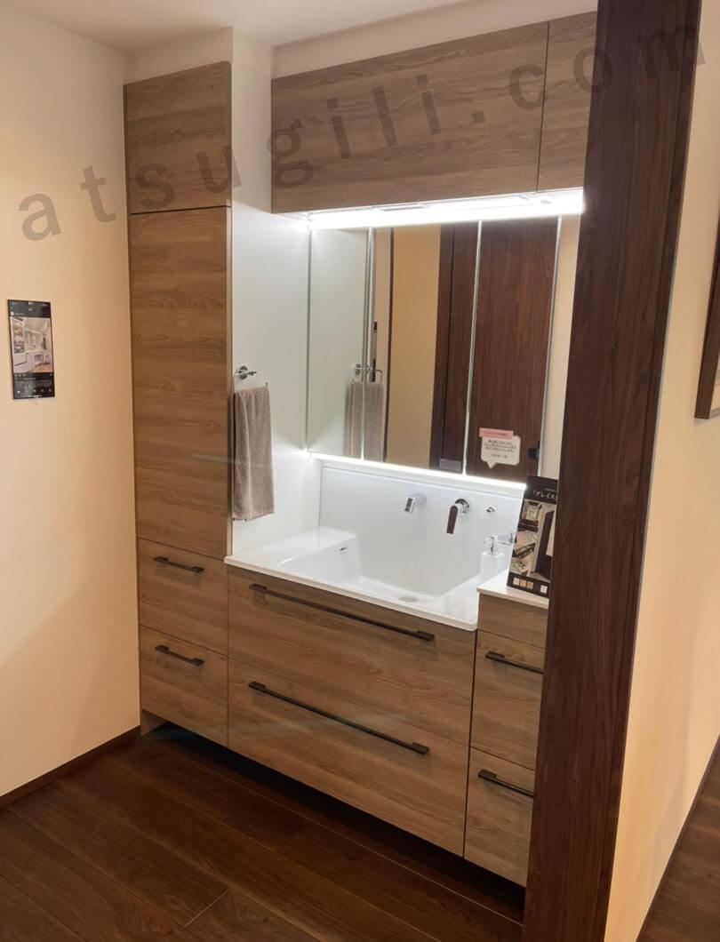 グランセゾンの洗面台の画像