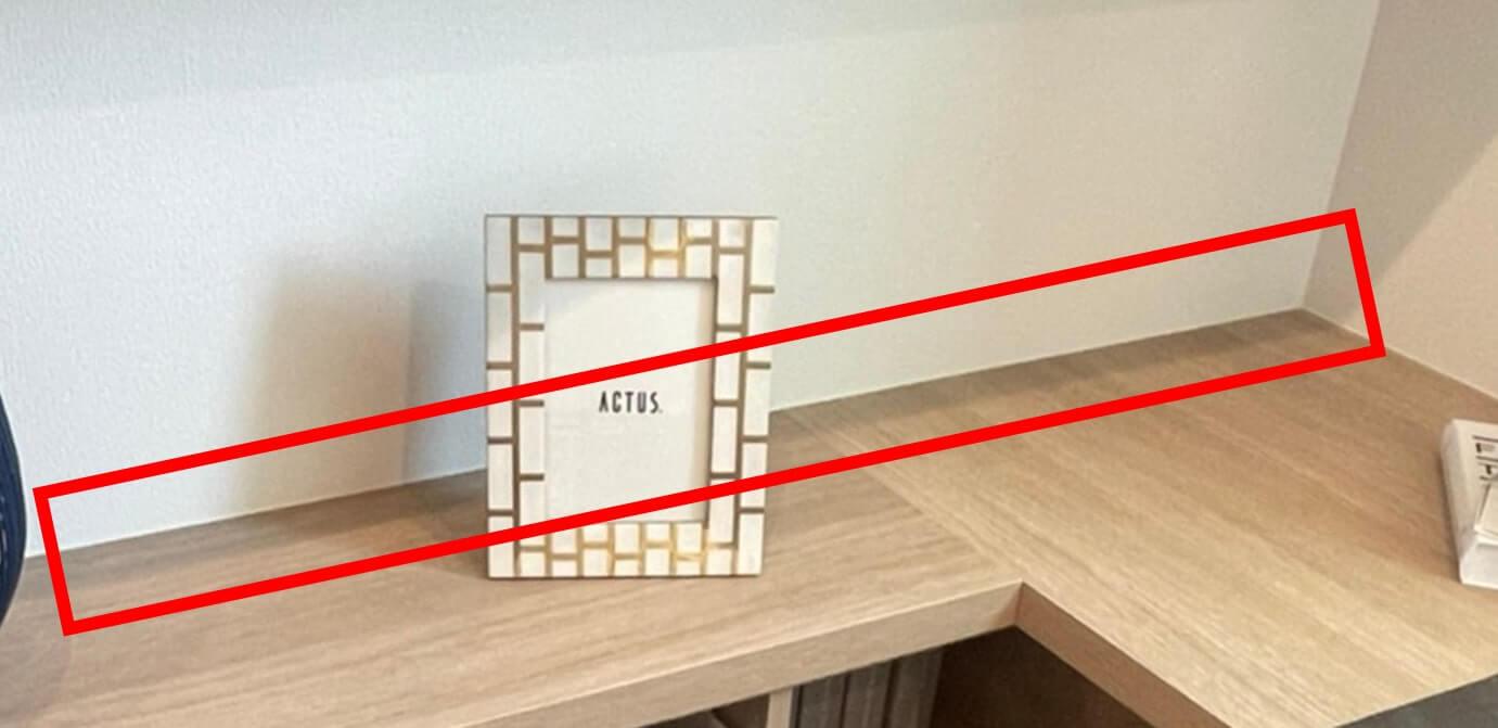 書庫ユニットの壁際の画像