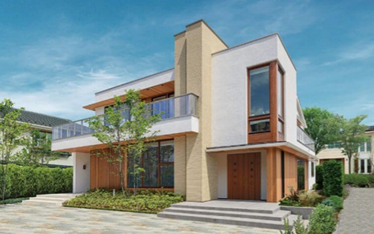三井ホームの外観デザインの画像1
