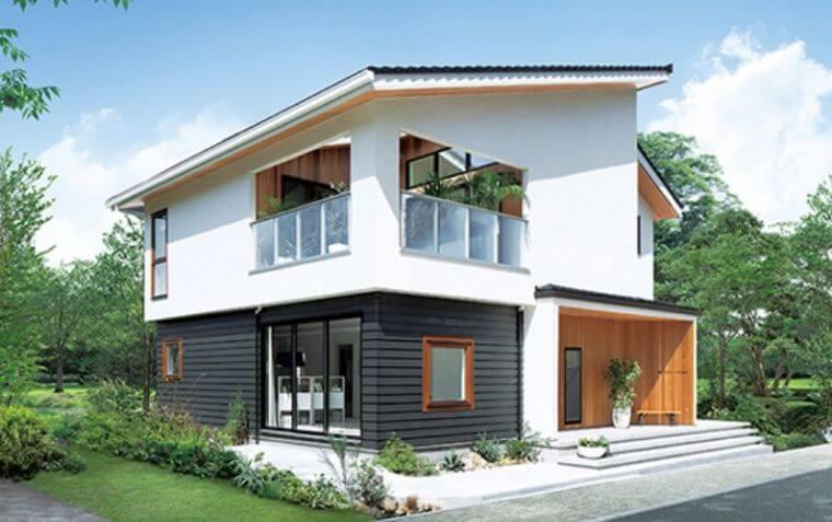 三井ホームの外観デザインの画像2
