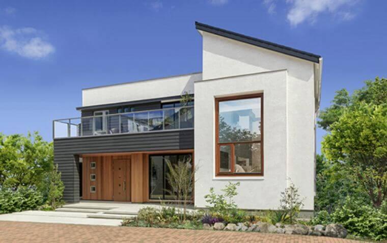 三井ホームの外観デザインの画像3