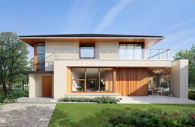 三井ホームのラングレーの画像