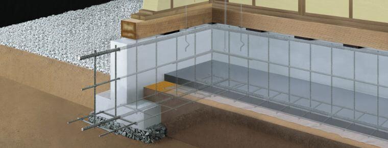 一条工務店の高耐久・高耐震の基礎の画像